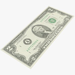 dollar bill 3D
