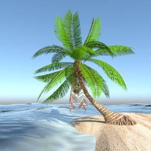 palmera palm tree 3D model