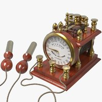 Antique Medical Electrical Shock Machine