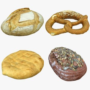 scan bread 3D model