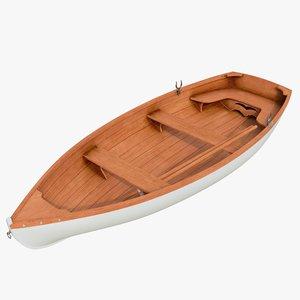 3D realistic boat 01 b