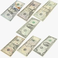 USA Dollars Banknotes Collection V1