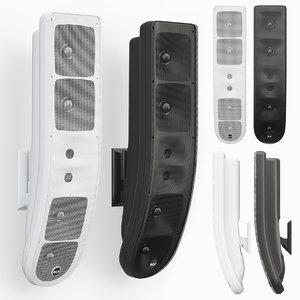 3D model rcf speaker