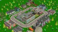 Cartoon Low Poly 3D City