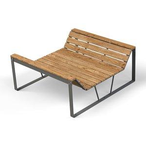 3D lounger -