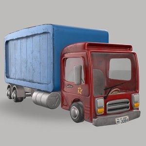 pbr truck model