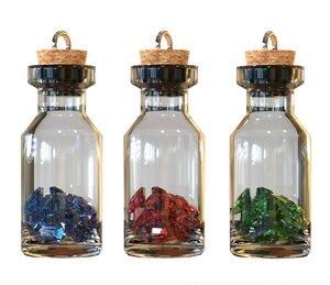 3D bottle pendant model