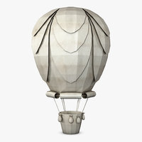 Hot Air Balloon Paper v 1