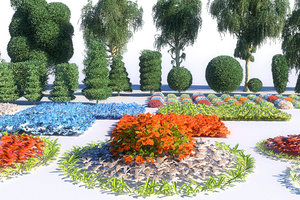 perfect garden mega pack 3D