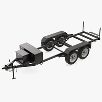 Heavy Duty 4 Wheel Trailer