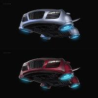 Sci-Fi Hover Car