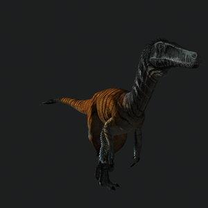 austroraptor animation 3D model