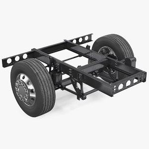 3D model bus suspension