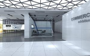 modern commercial 3D