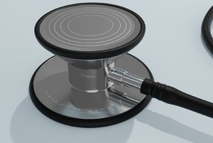 medical stethoscope 3D