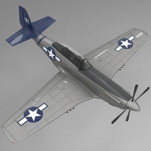 187 north american p-51 mustang model