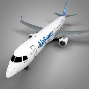 3D air europa embraer195 l671 model