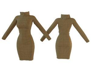 design women dress 3D model