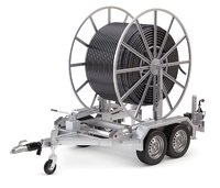 Broadband Cable Drum With Trailer