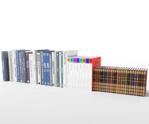3D - 58 unique books