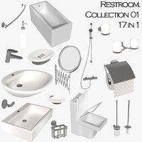 Restroom colletion 01 - 17 in 1 NO brand