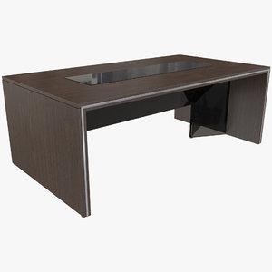 3D office conference desk model