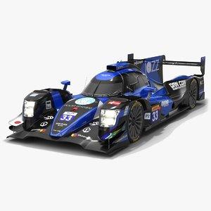 3D class racing wec lmp2 model