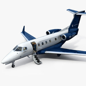 3D model embraer phenom 300e