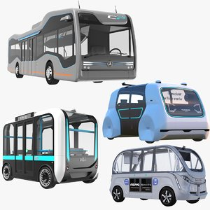olli bus 3D model