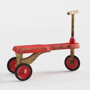 old vintage tricycle model