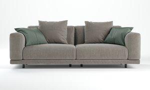 nevyll sofa ditre italia 3D model