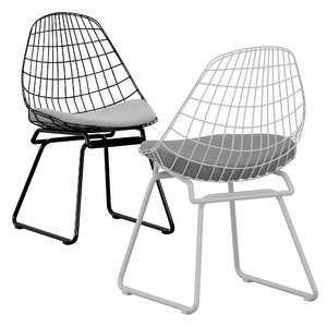 chair wire pastoe 3D