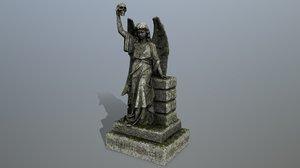 statue 2 3D model