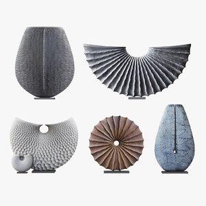 benoit averly sculptures 3D model