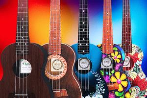 ukulele musical instrument 3D