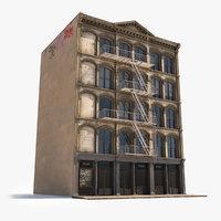 Hyper Realistic Soho Facade 6