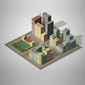 max block urban building