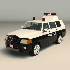 police van model