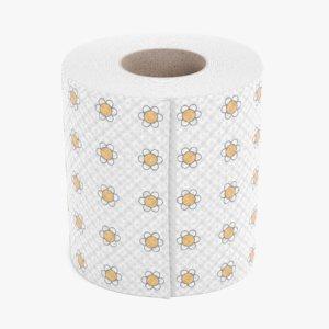 toilet paper 5 3D
