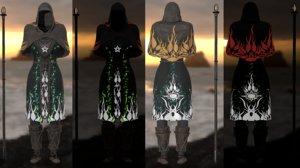 armor staff pbr 3D model