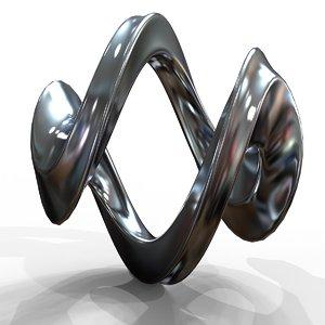 3D infinity loop
