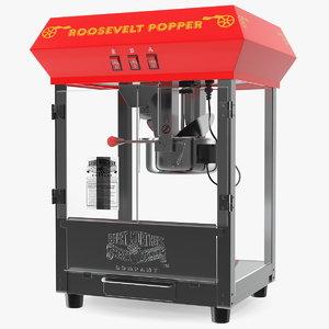 popcorn machine great northern 3D model