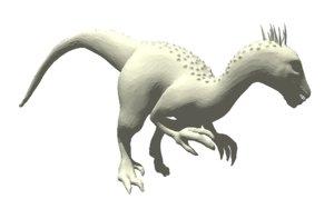 3D indoraptor