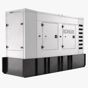 3D kohler big portable generator
