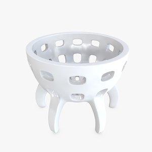 egg cup 3D model