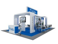 Nottingham University Exhibition 6x9 Booth
