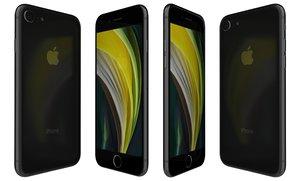 3D apple iphone se 2020