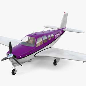light civil utility aircraft model