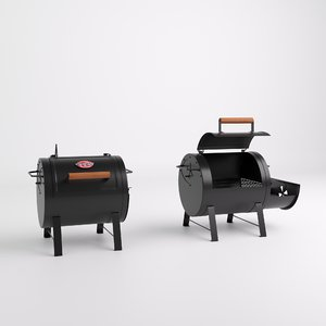 grill table 3D