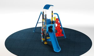 3D kids playground 02